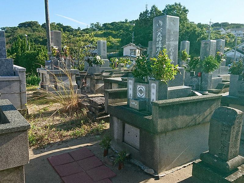 浜田市営 下府上の浜共同墓地
