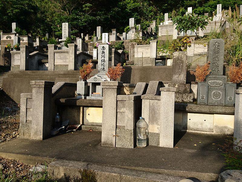 浜田市営 津摩共同墓地