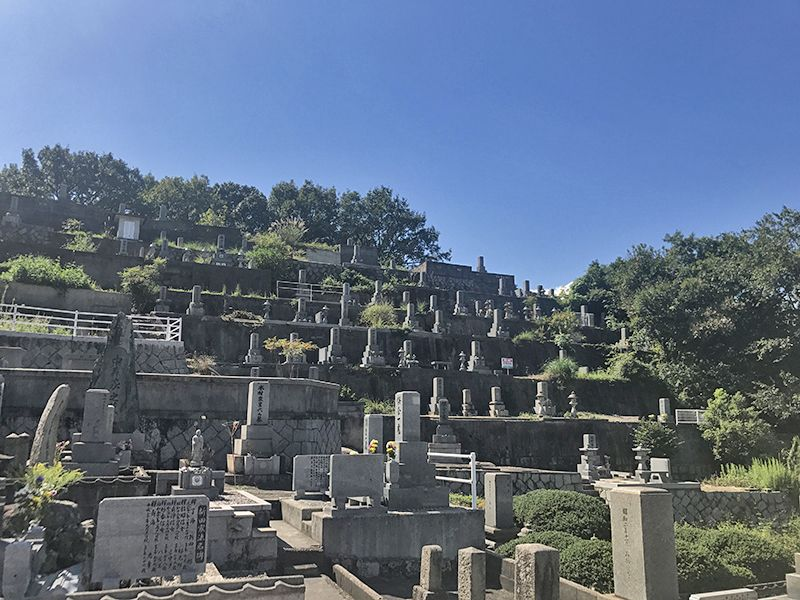 呉市営 鹿田墓地
