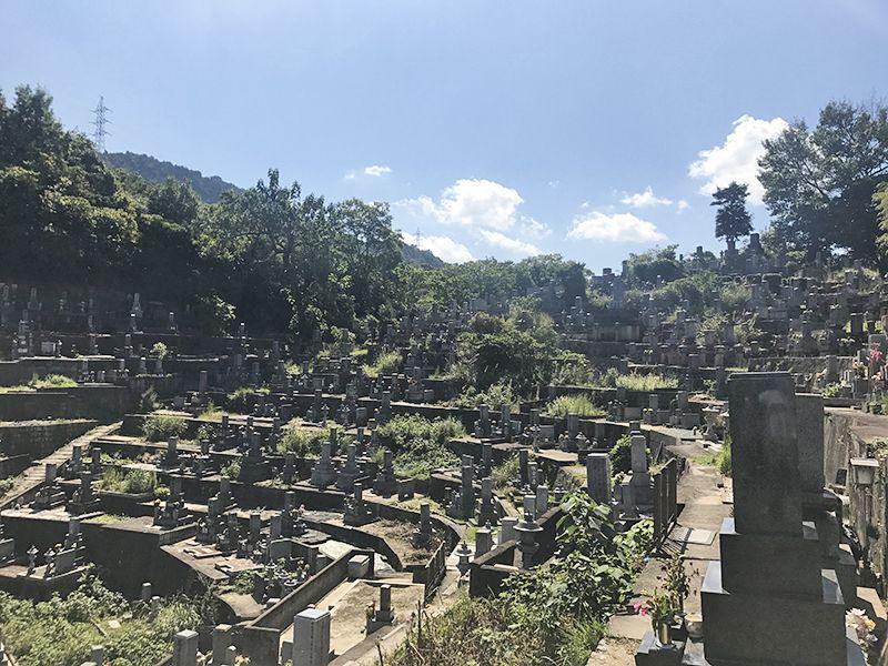 呉市営 坪内墓地