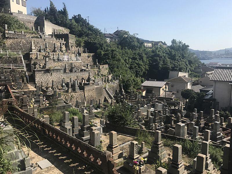 呉市営 二川墓地