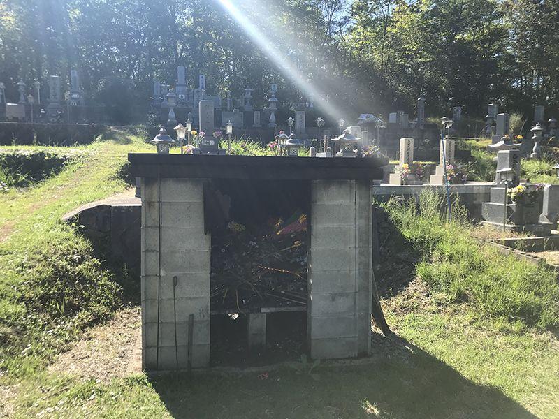三次市岡田墓地