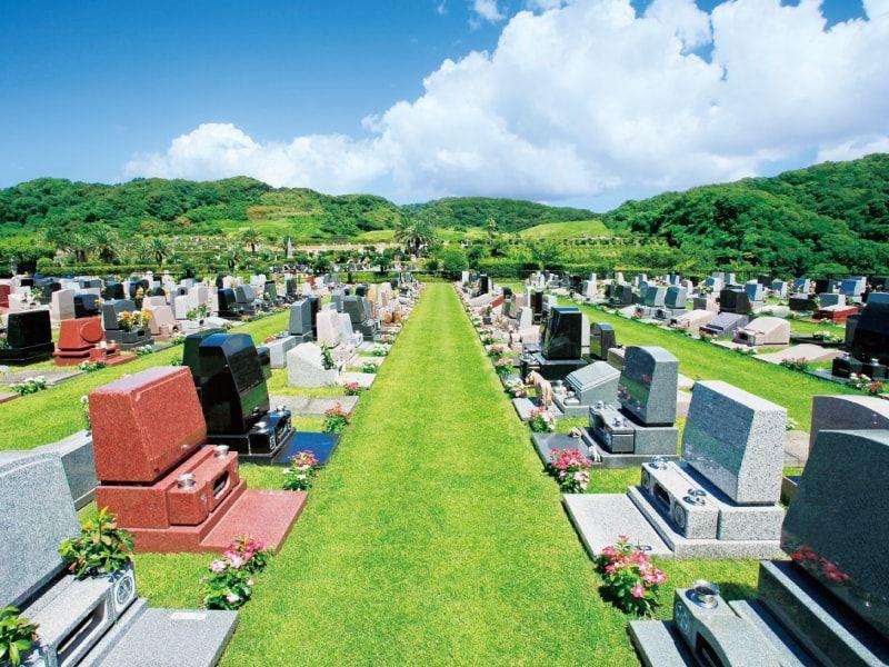 緑に囲まれたやすらぎの里 南葉山霊園の芝生墓地