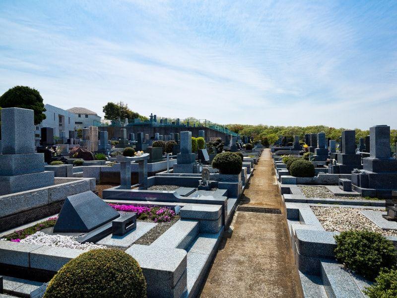 春秋苑 手入れが行き届いた墓域
