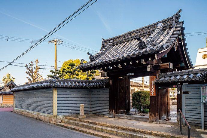 大應寺浄苑の門前