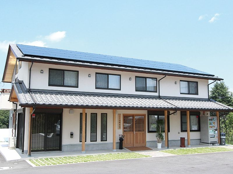 川崎清風霊園 和風な管理棟の外観