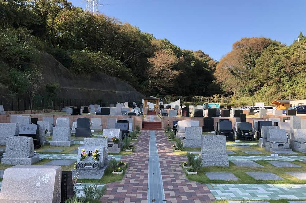 メモリアルパーク大磯 全ての区画でペット共葬可能