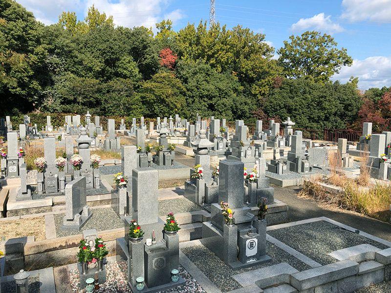 香芝市 別所共同墓地