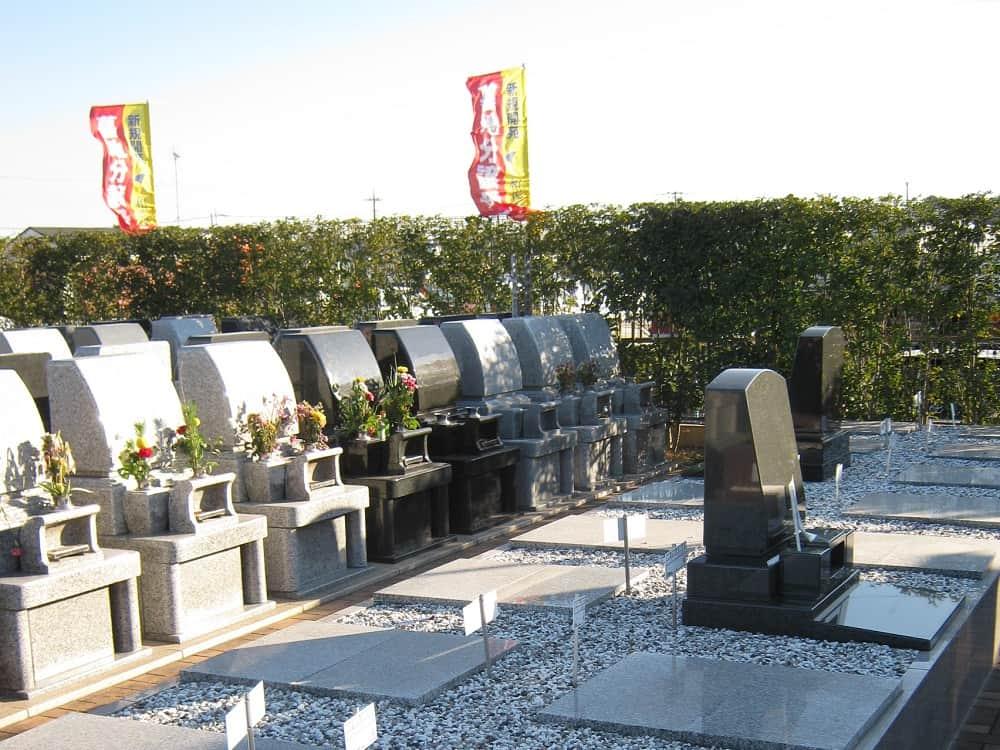和光聖地霊苑 手入れが行き届いている墓域
