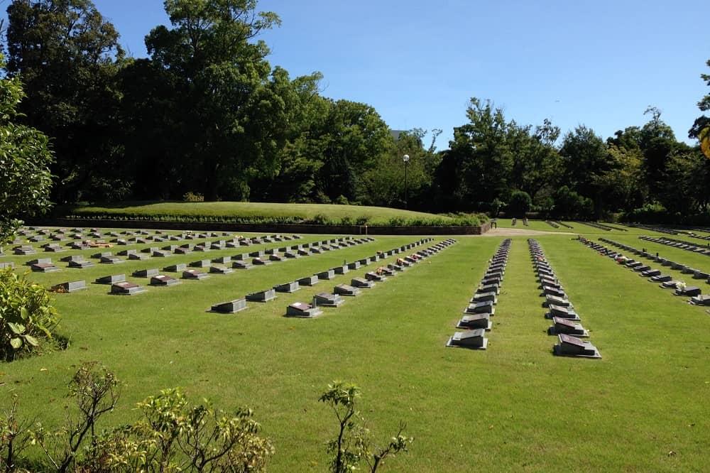 横浜市営 メモリアルグリーン 日当たりの良い墓域
