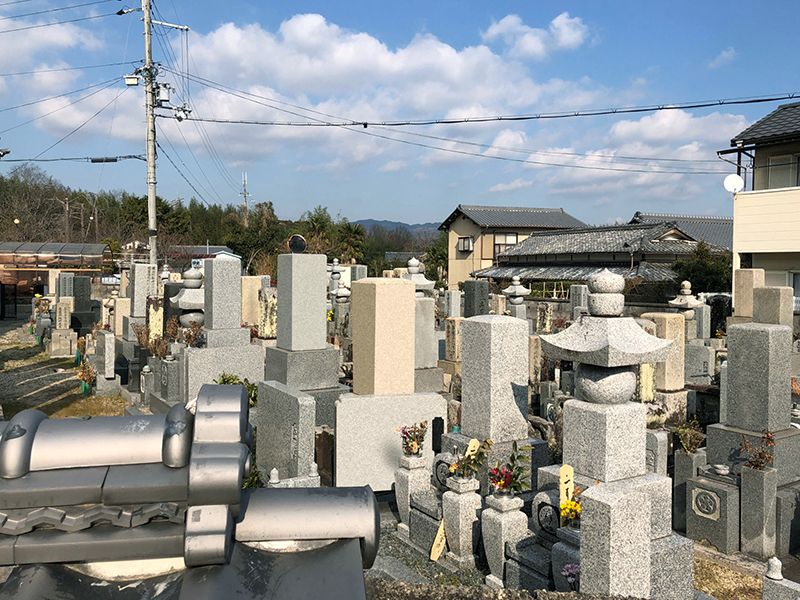 高田寺西墓地