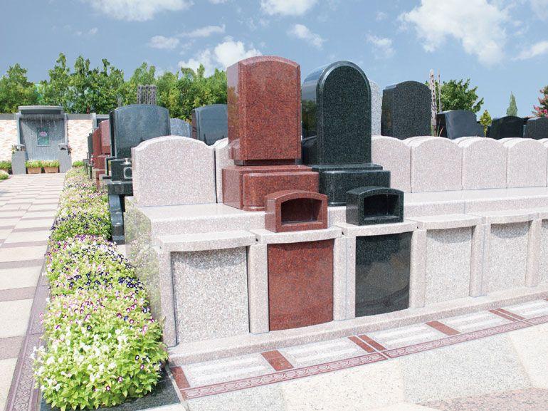 高島平浄苑 和洋型墓石