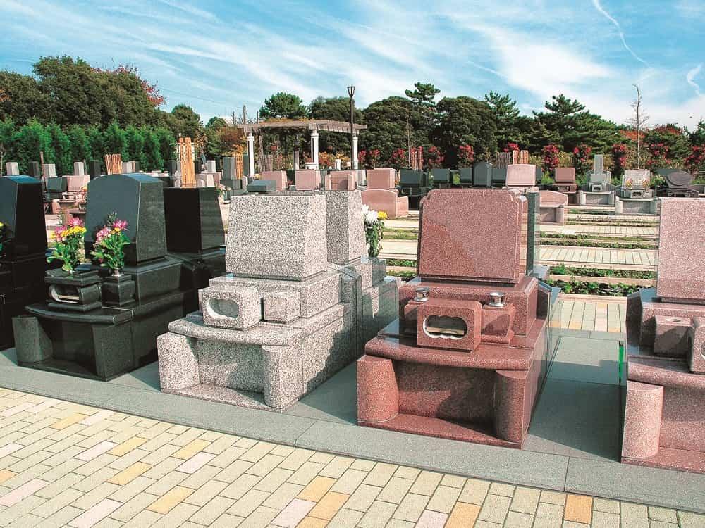 湘南フォレスト 周囲に遮るものがなく日当たりの良い墓域