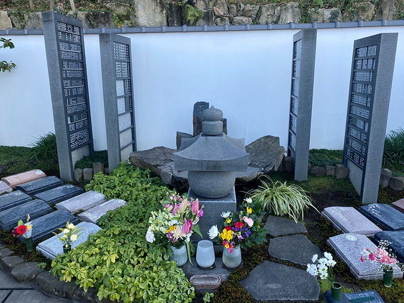 東山霊園 庭園墓 花楽苑 合祀墓(久遠の泉)