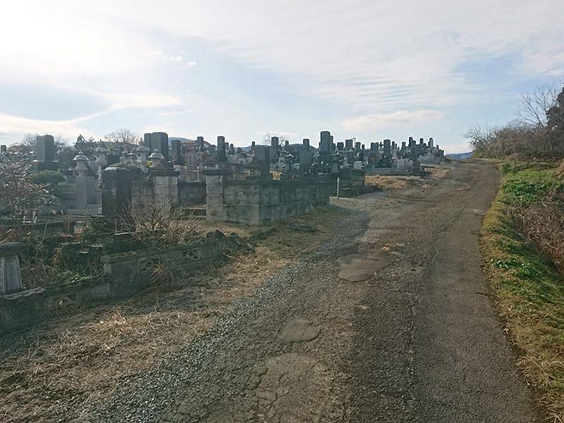 白石市長袋共同墓地