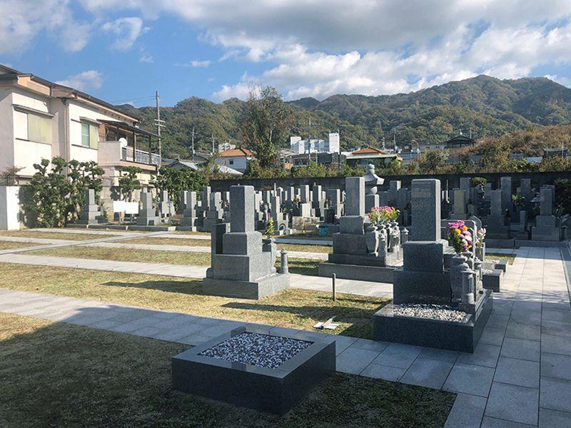 自行山 菩提寺墓地