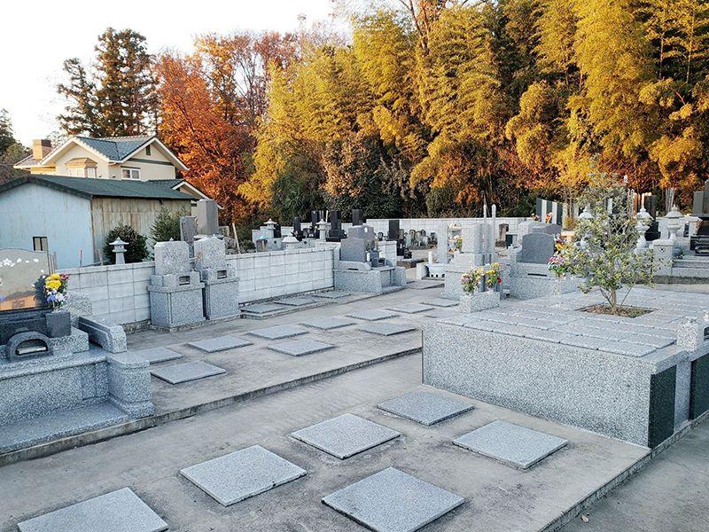 川越市下広谷共同墓地 樹木葬