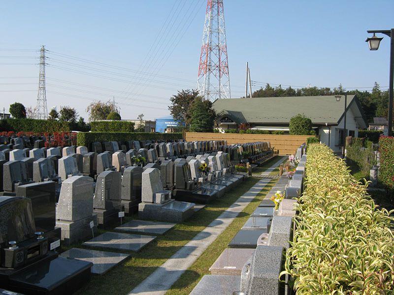川越さくら浄苑の墓地区画