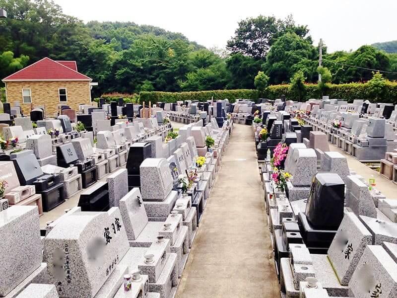 旭の郷 日当たりの良い明るい墓域