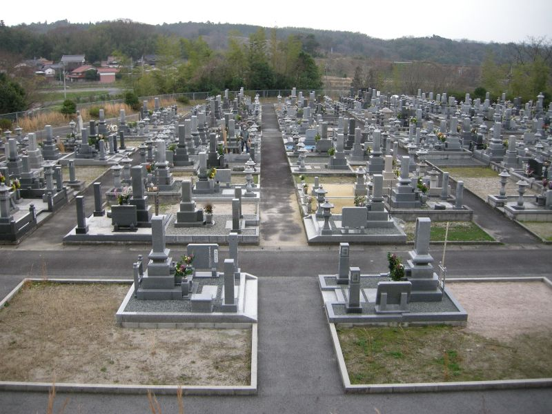 伯耆町町営公園墓地