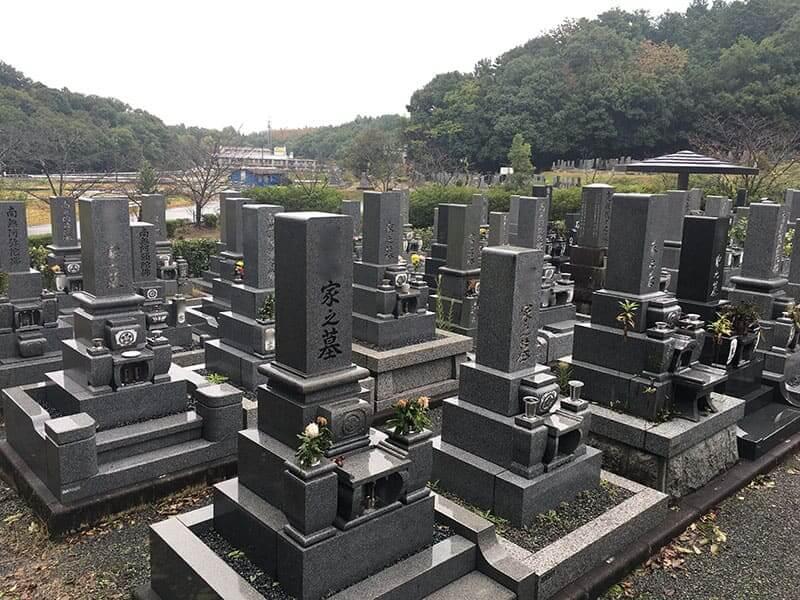岐阜市営 大洞墓地