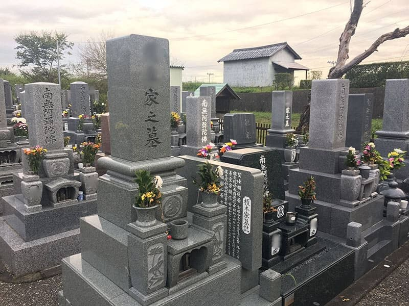 岐阜市営 柳津宮東墓地