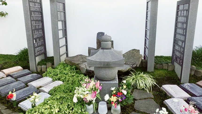 日本庭園風樹木葬
