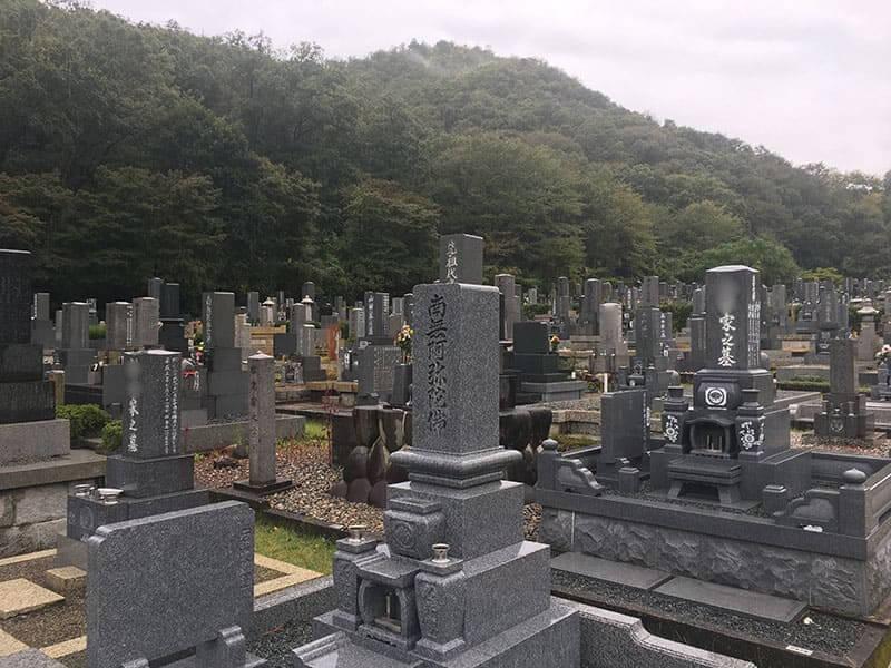 各務原市営 公園墓地 瞑想の森
