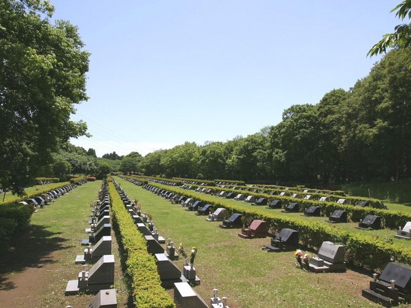 千葉市営平和公園墓地の墓所