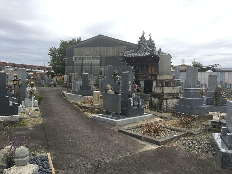 羽島市営 曲利区共同墓地