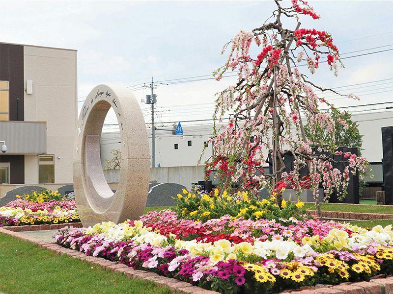 サニープレイス所沢 永代供養墓・樹木葬 桃源郷の花壇