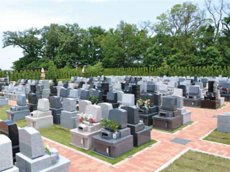 南川越霊園 一般墓 緑地付