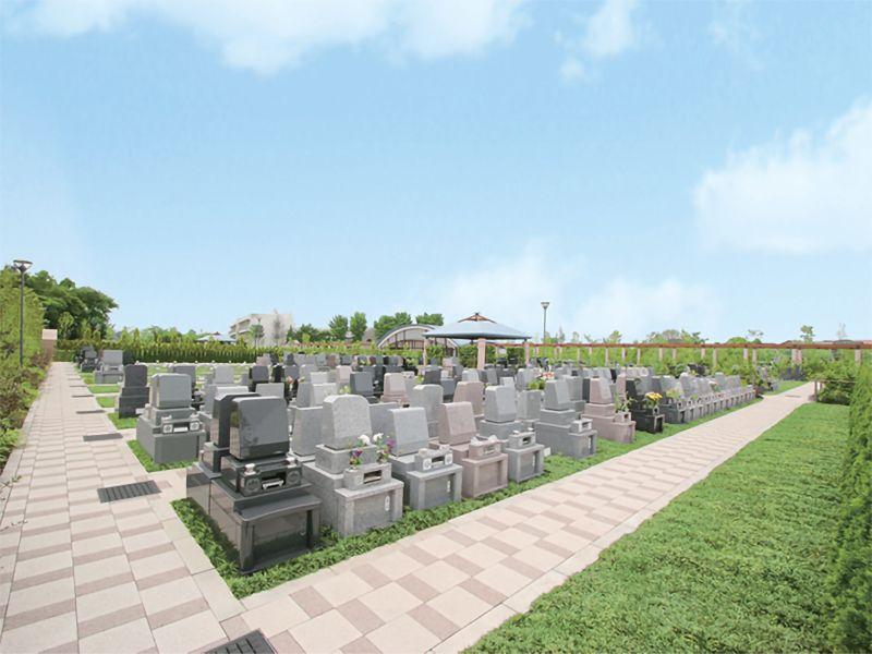 さいたまメモリアルパーク 一般墓 緑地付ゆとり墓所