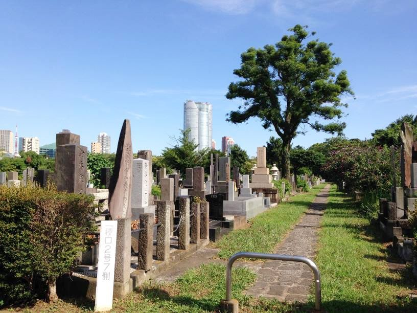 青山霊園16