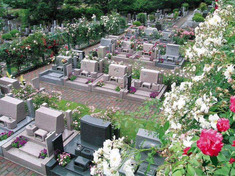 西東京墓苑 一般墓 バラ区画