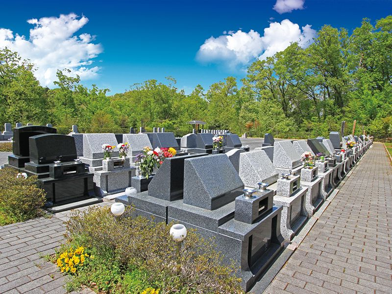 町田こもれびの杜霊苑 一般墓 ゆとりレンガ