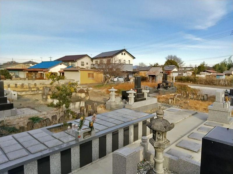 上大塚共同墓地 樹木葬