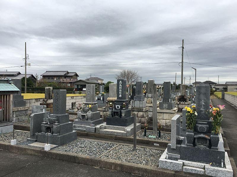羽島市営 一色墓地