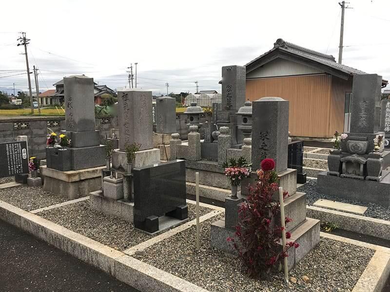羽島市営 石田願照寺西霊園