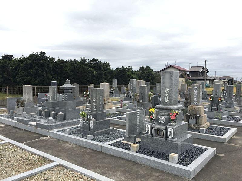 羽島市営 市之枝東墓地
