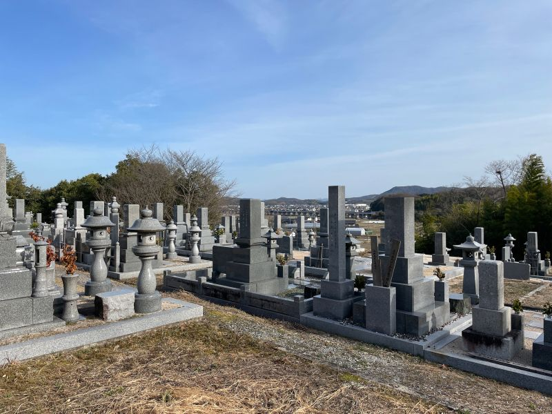 能満寺墓地