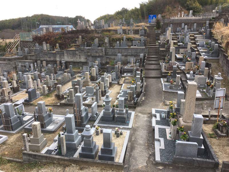 田辺地区墓地