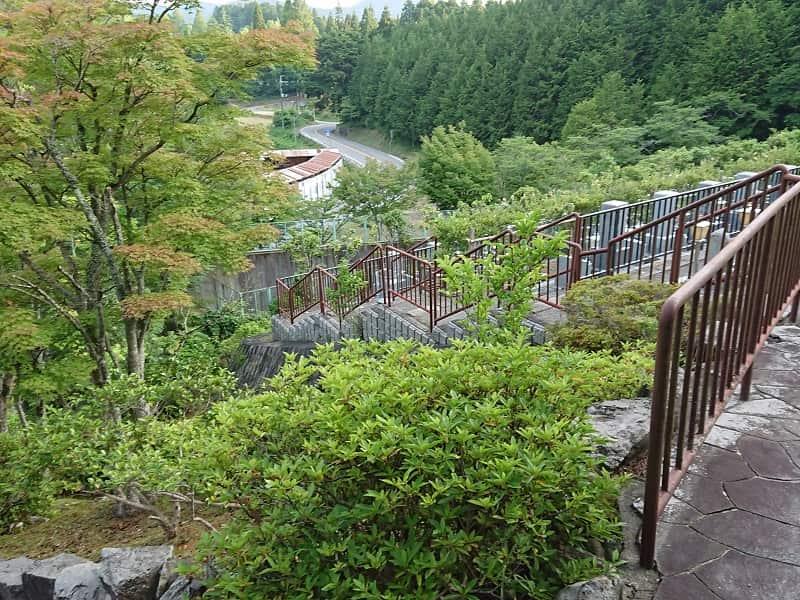 高槻霊園 眺望の良い園内