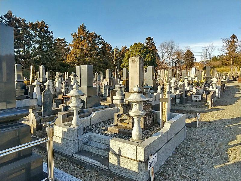 前橋市営 嶺公園移転墓地