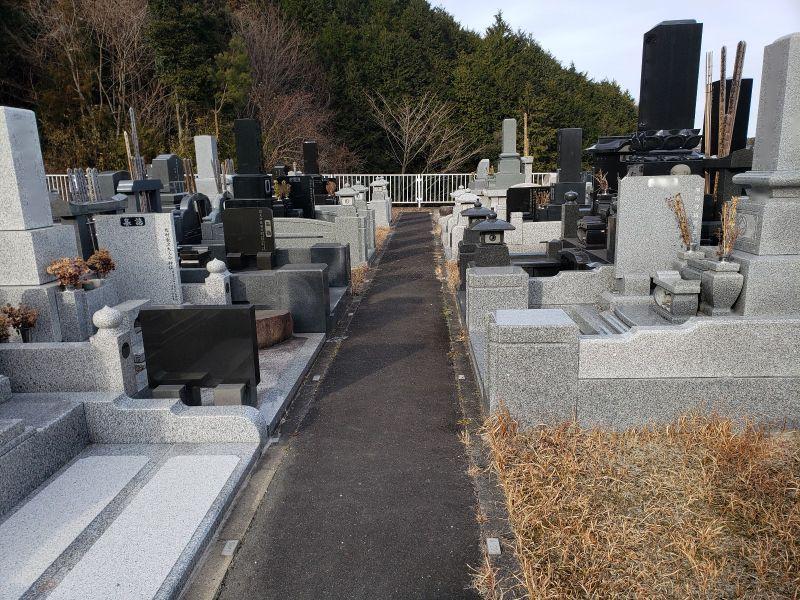 高萩市営 秋山菖蒲霊園