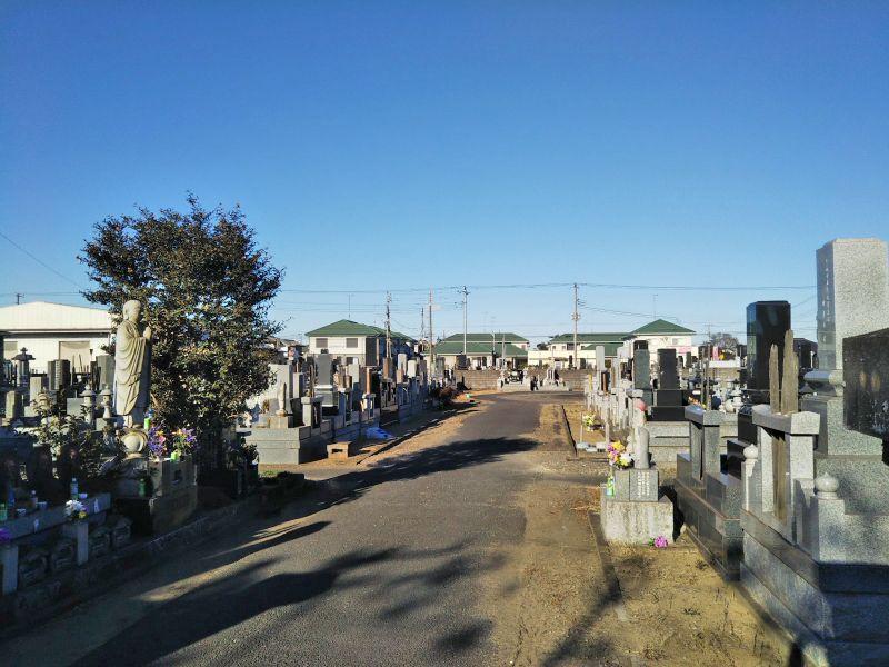 神栖市営 大野原墓地
