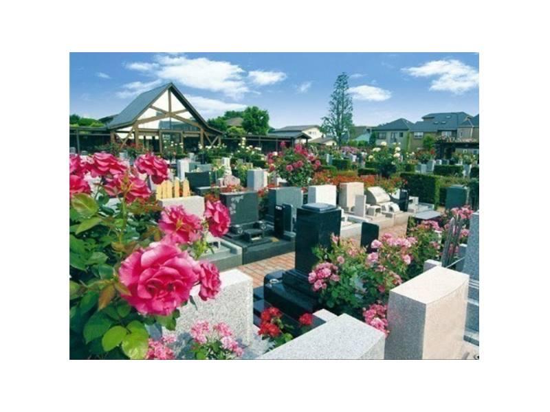府中ふれあいパーク 花に囲まれた墓域
