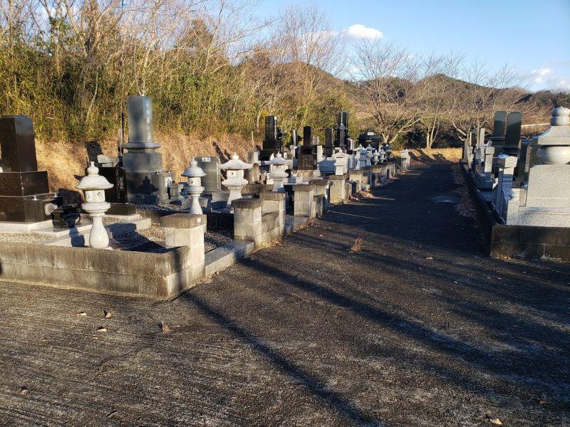 常陸太田市営 松平第三霊園