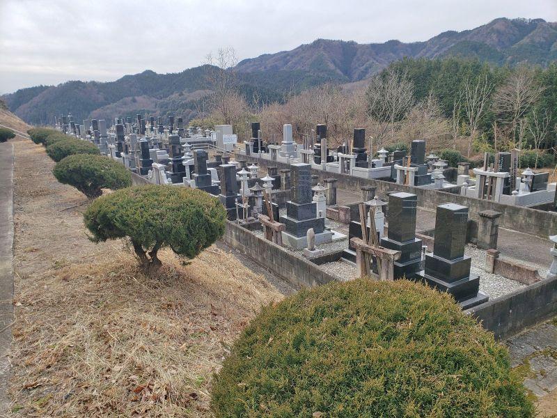 常陸太田市営 天下野第一霊園