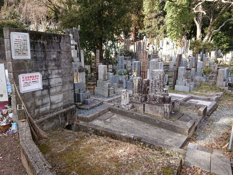 京都市営 京都市小谷墓地
